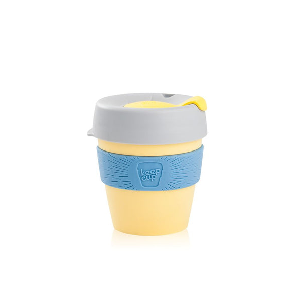 KeepCup Reusable Coffee Cup - Yellow (8oz)