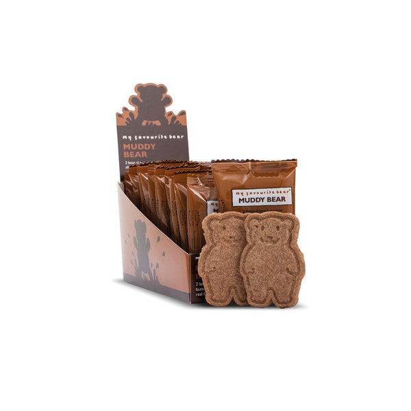 Muddy Bear Biscuits (48x25g Twin Packs)