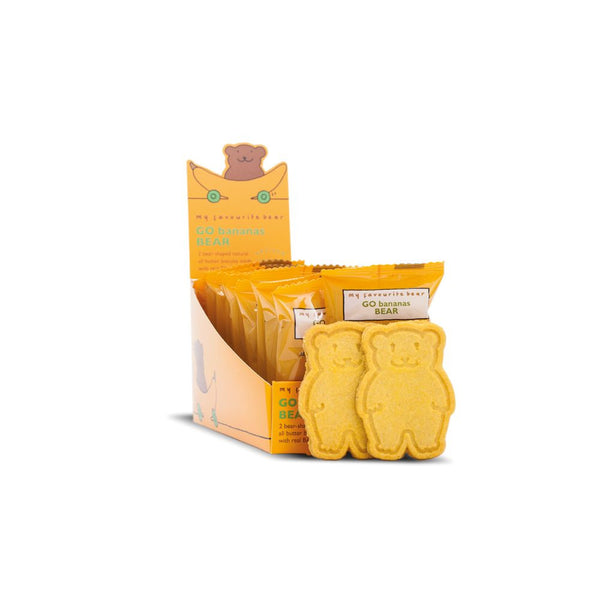Go Bananas Bear Biscuits (48x25g Twin Packs)