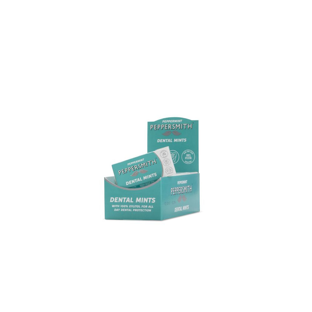 Peppersmith Peppermint Dental Mints (12 packs x 25 mints)