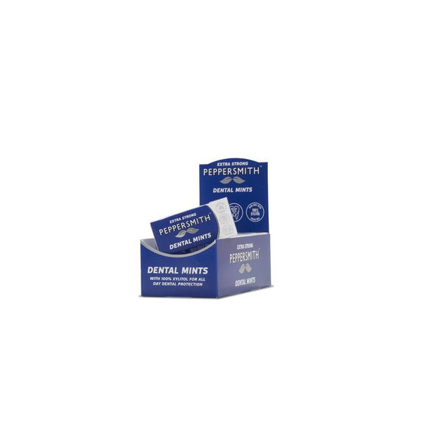 Peppersmith Extra Strong Dental Mints (12 packs x 25 mints)