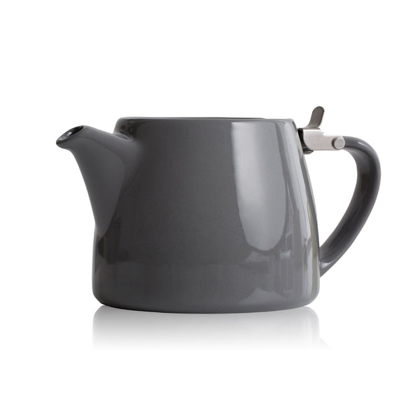 Forlife Small Grey Stump Teapot - 13oz