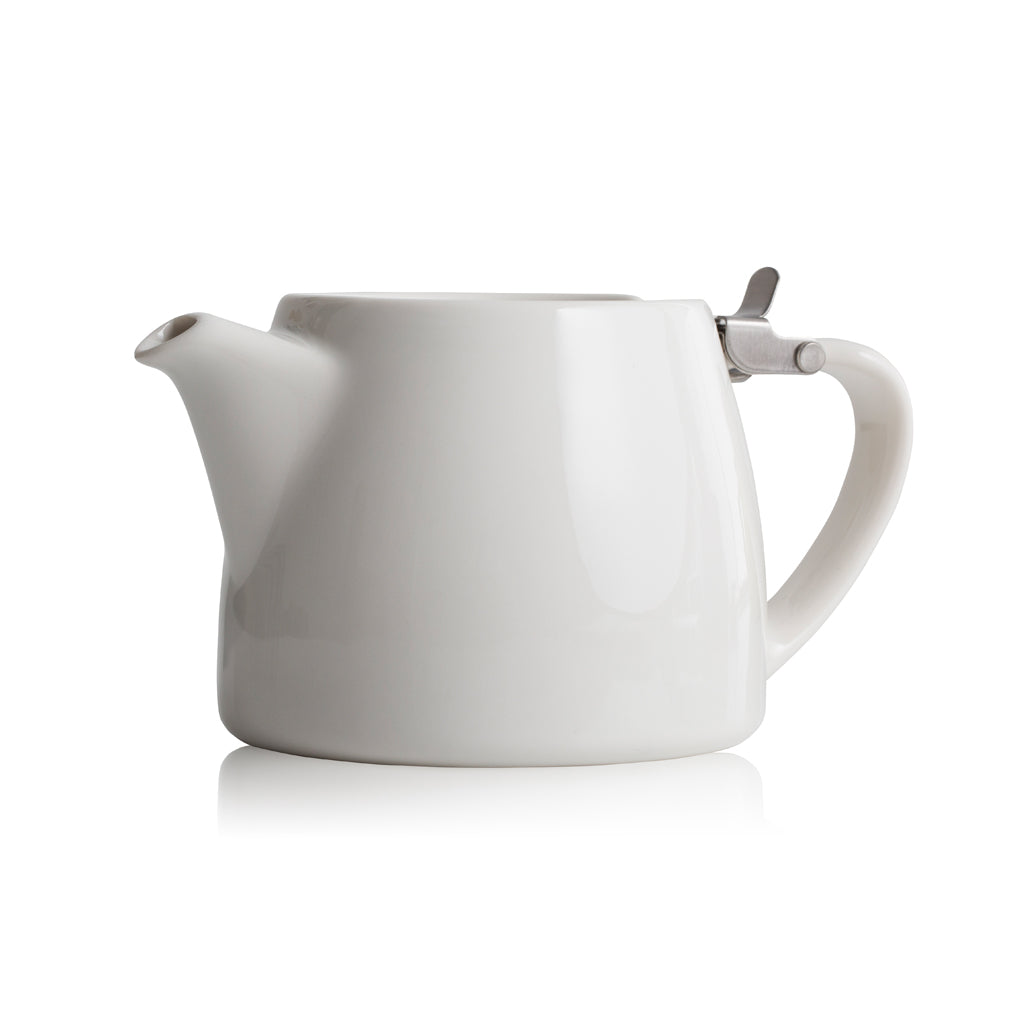 Forlife Small White Stump Teapot - 13oz