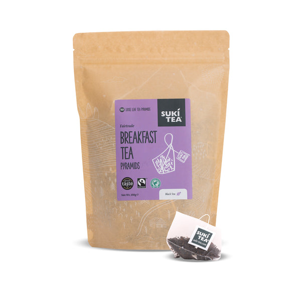 Suki Tea - Breakfast Tea (50 Pyramid Tea Bags)