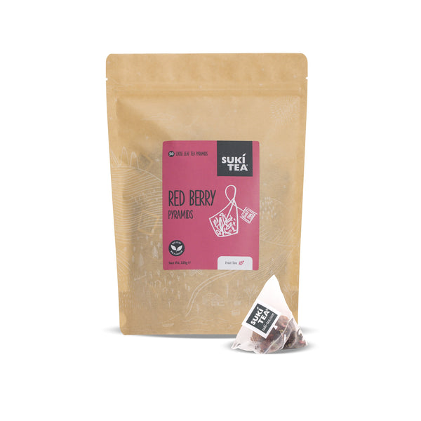 Suki Tea - Red Berry ( 50 Pyramid Tea Bags )