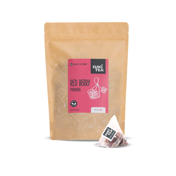 Suki Tea - Red Berry (50 Pyramid Tea Bags)