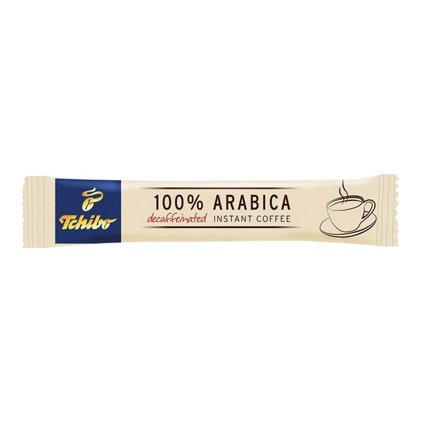 Tchibo 100% Arabica Decaffeinated Instant Coffee (500 Sticks)