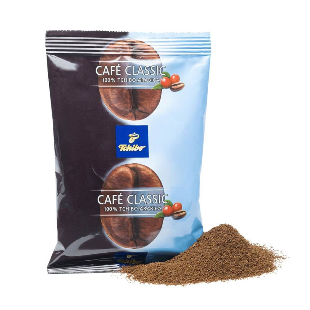 Tchibo Café Classic Decaffeinated Ground Coffee (75x70g Bags)