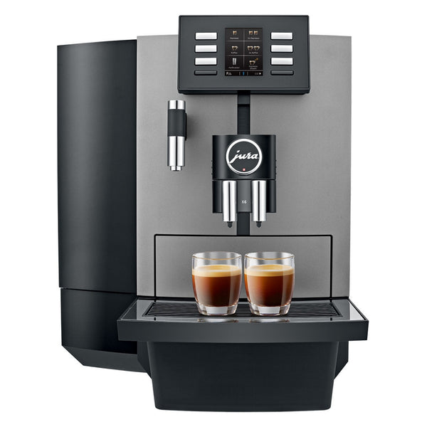 Jura JX6 Dark Inox + Onsite Warranty + FREE Coffee