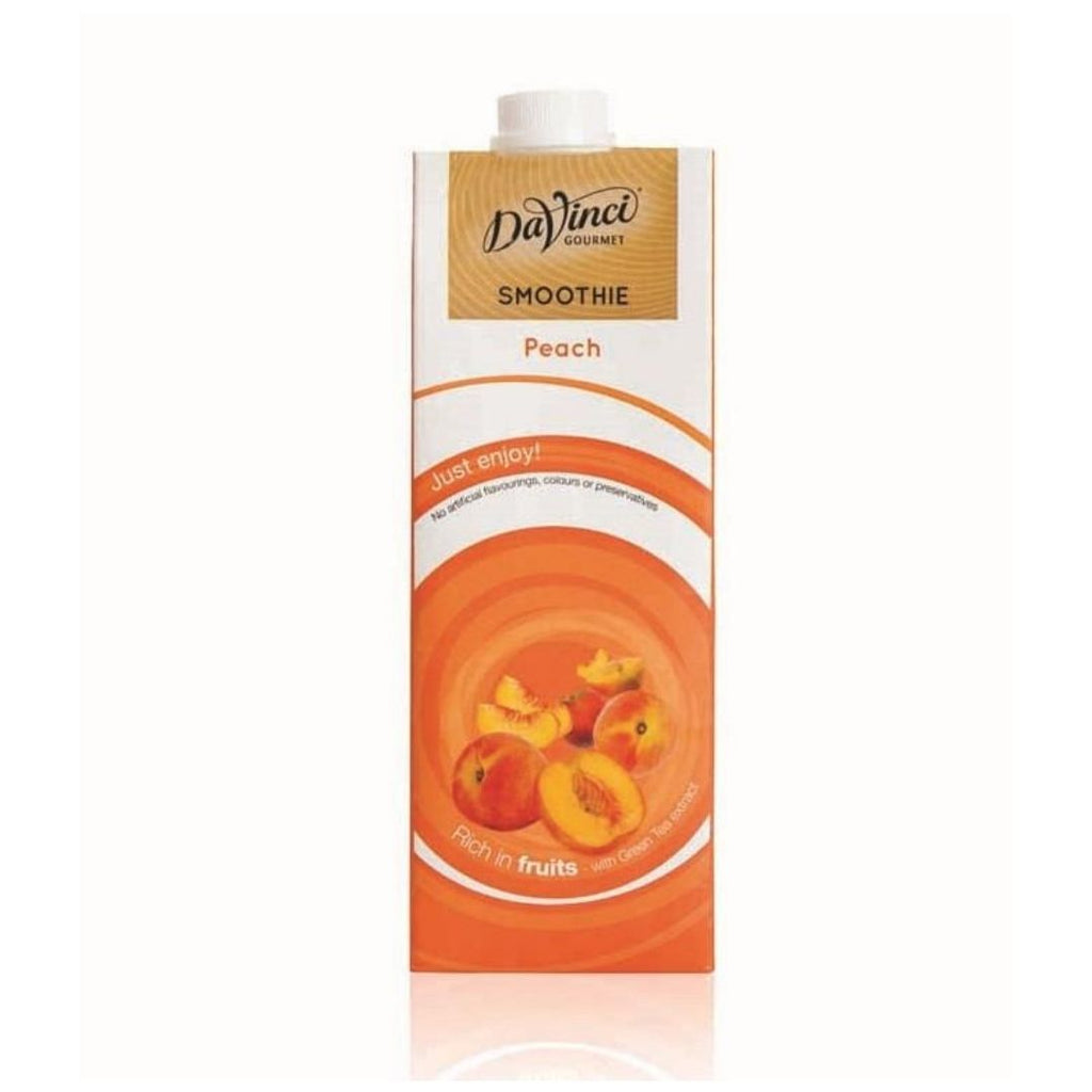 DaVinci Peach Smoothie Mix (8x1l Cartons)