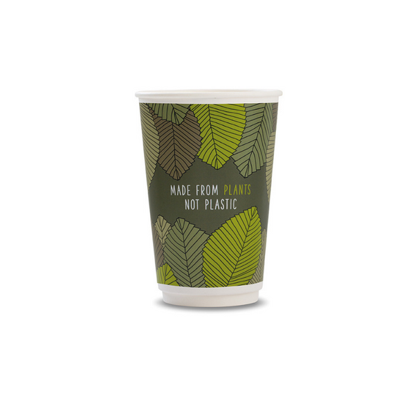 16oz Vegware Double Wall eco Cup (400 cups)