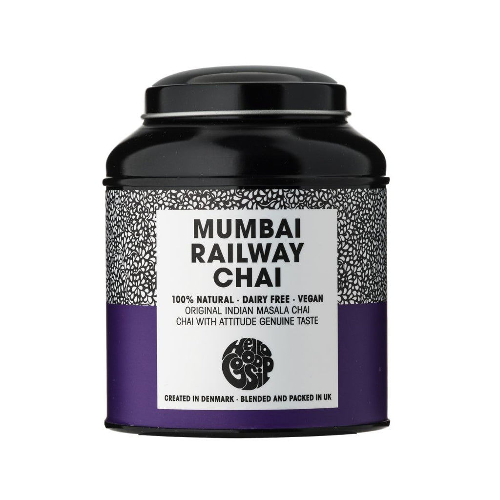 Mumbai Railway Chai Metal Display Caddy