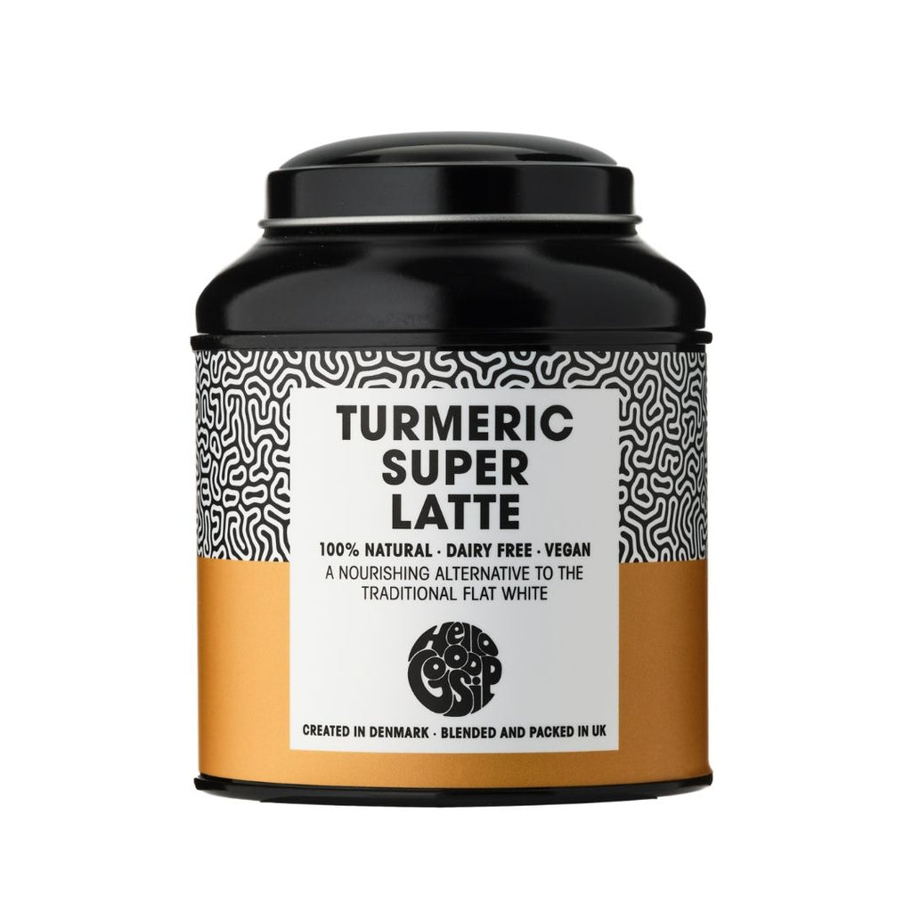 Turmeric Super Latte Metal Display Caddy