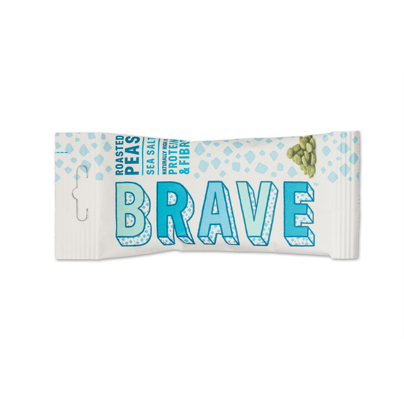 Brave Peas Sea Salt (12x35g Bars)