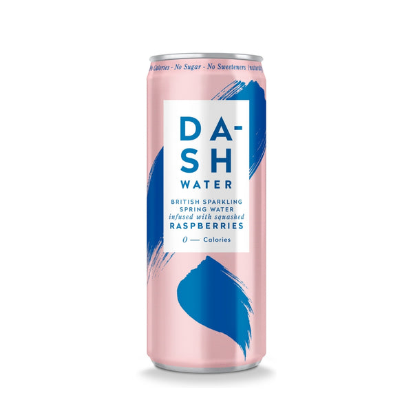 Dash RTD Sparkling Water -Raspberry Multipack (12x330ml)