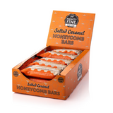 Mighty Fine Salted Caramel Honeycomb Bar (15x30g)