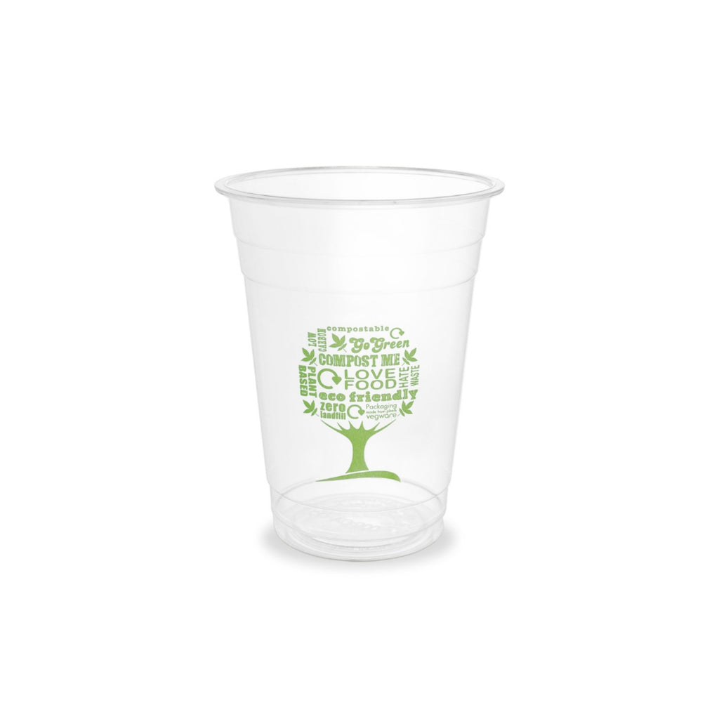 Vegware Cold Compostable Cups 16oz (1x1000)