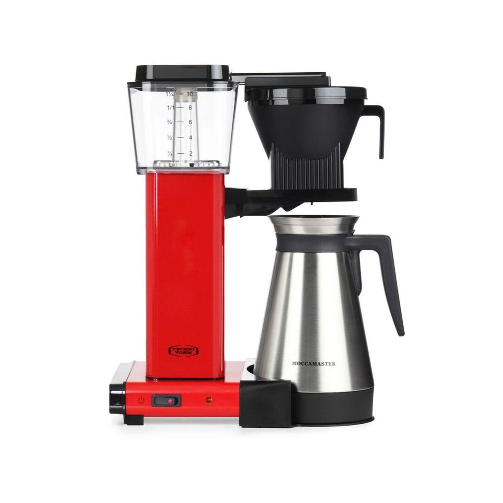 Technivorm Moccamaster KBGT 741 Filter Coffee Machine (Red) + Thermo Flask
