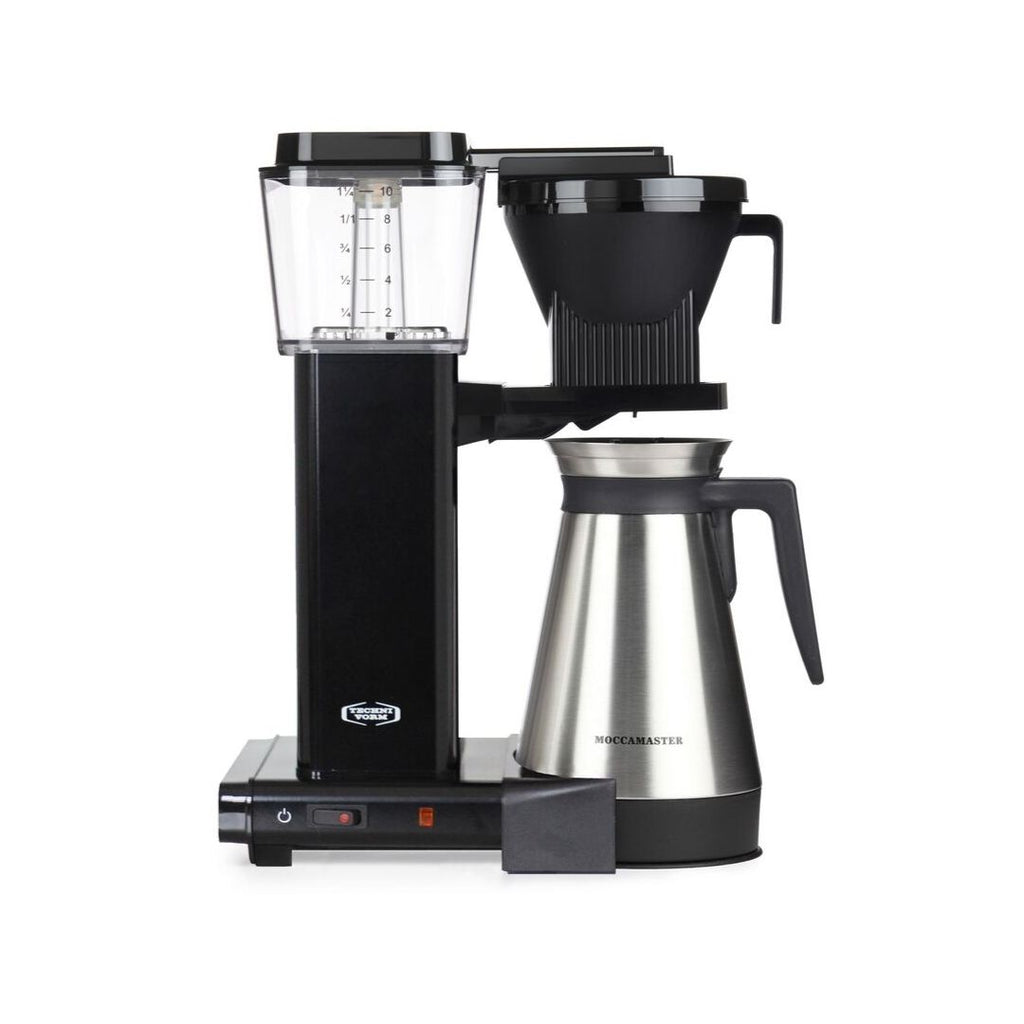 Technivorm Moccamaster KBGT 741 Filter Coffee Machine (Black) + Thermo Flask