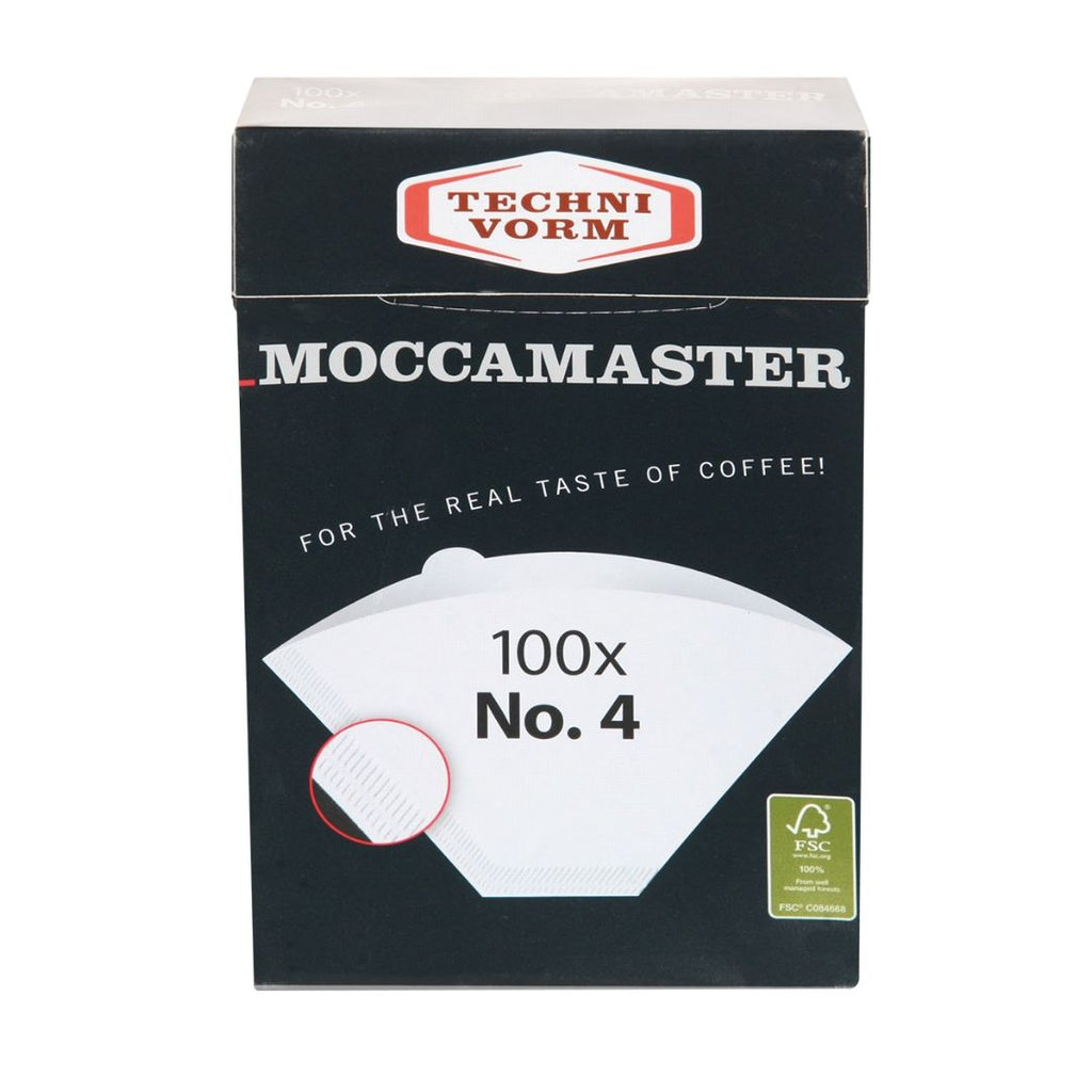 Technivorm Moccamaster No.4 filter papers (1 x 100)