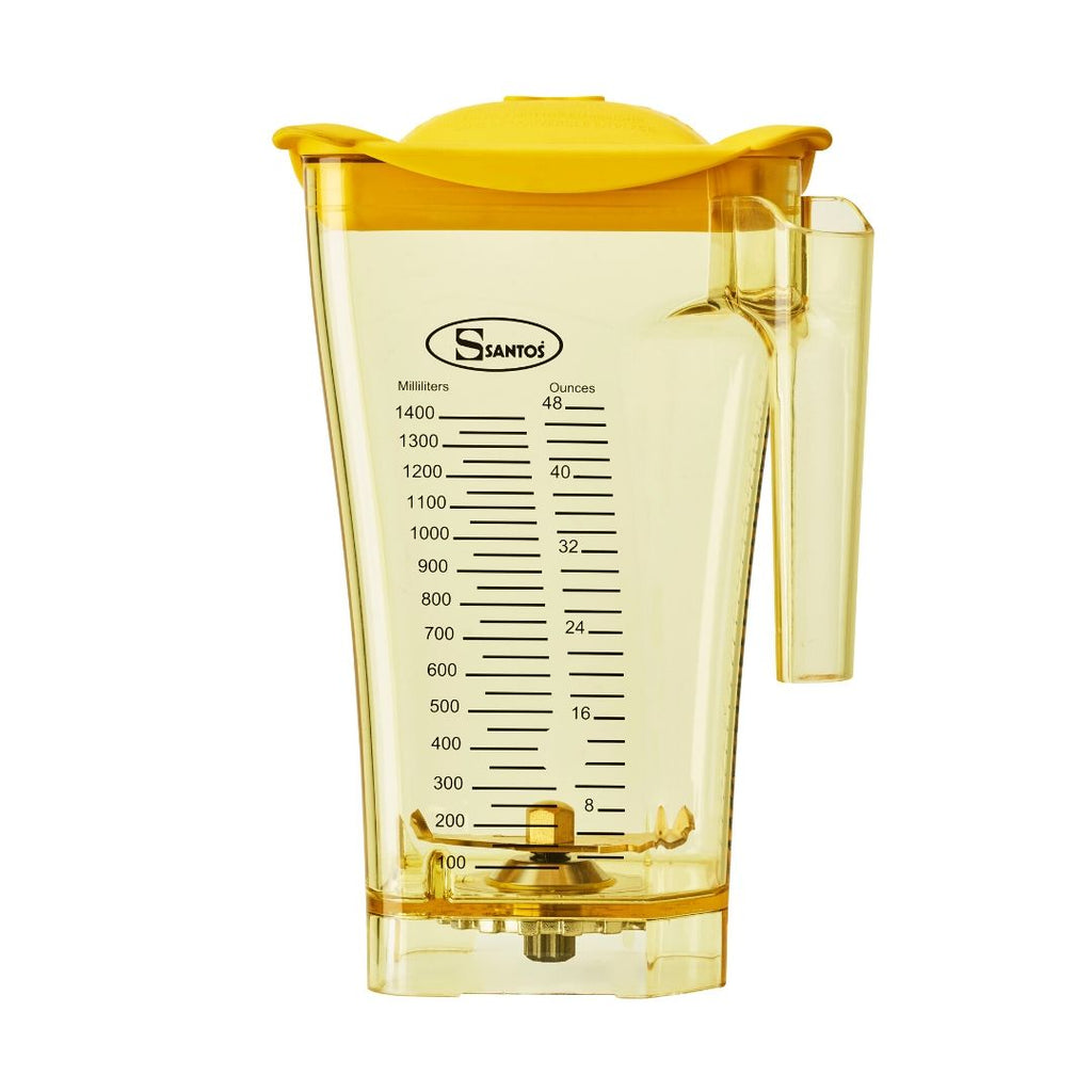 Santos Coloured Blender Jug - Yellow