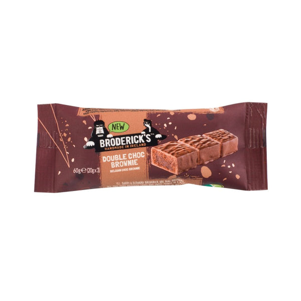 Broderick's Double Choc Brownie (20x60g)