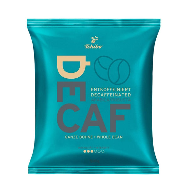 Tchibo Decaffenated Decaf Coffee Beans 10 x 500g