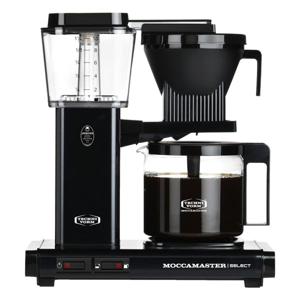 Technivorm Moccamaster Select Filter Coffee Machine (Black) + Glass Flask