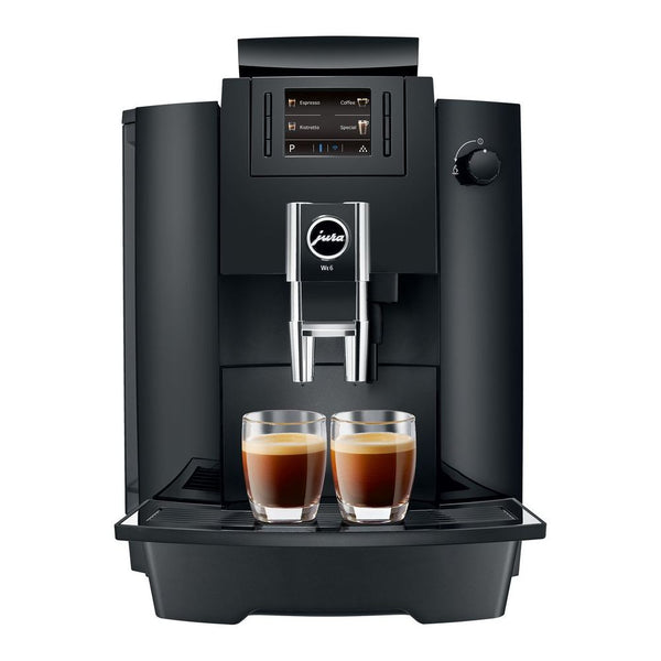 Jura WE6 Piano Black + FREE Cup Warmer, Coffee, Warranty