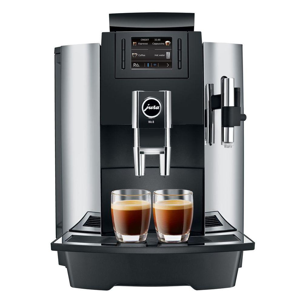 Jura WE8 GEN II Package (Coffee Machine, Milk Cooler, Cup Warmer, Coffee, Warranty)