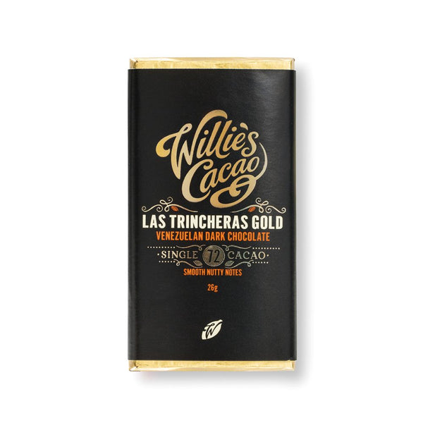Willies Cacao - Las Trincheras Gold (30x26g Bars)