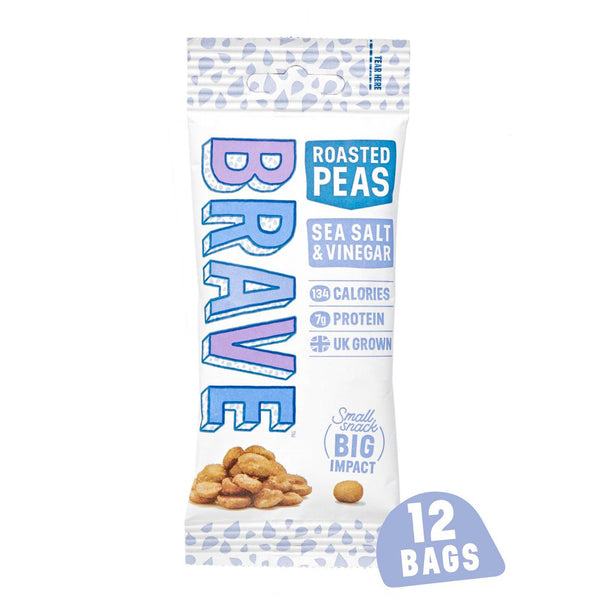 Brave Peas Sea Salt & Vinegar (12x35g Bags)
