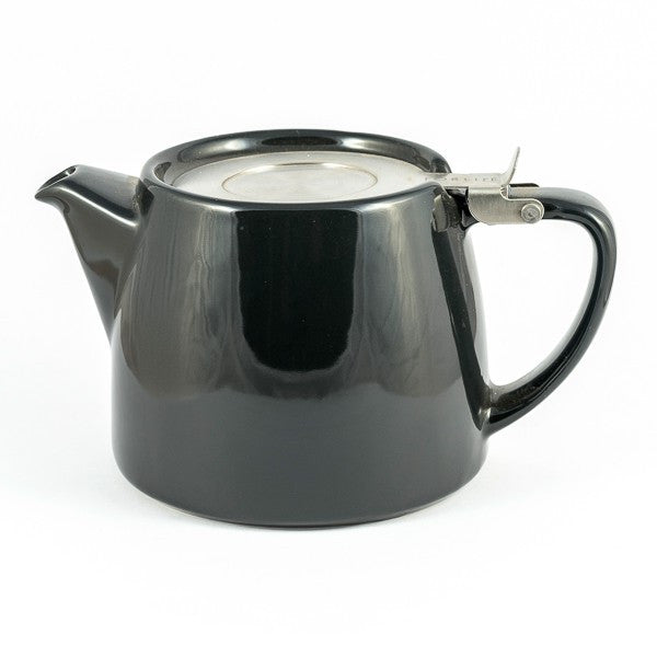 Forlife Charcoal Stump Teapot (18oz)