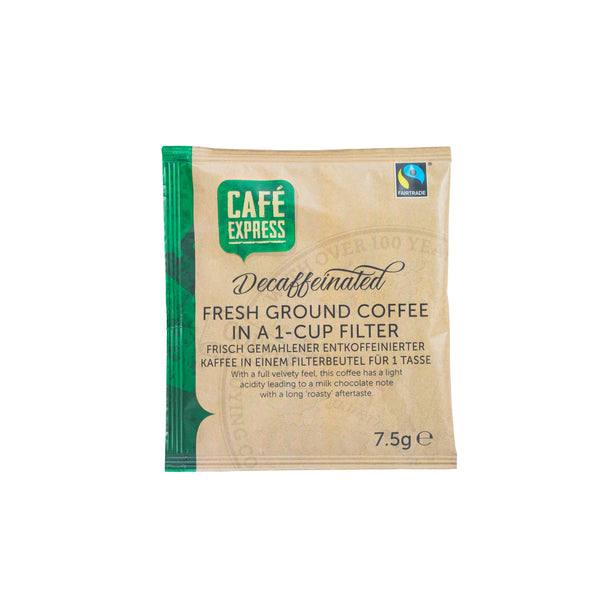 Fairtrade Decaf One-Cup Coffee Filter (1x50)