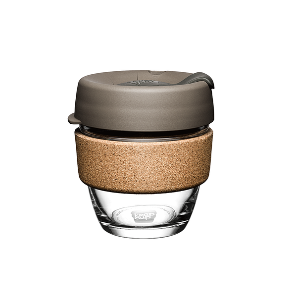 KeepCup -  Latte Glass Brew Cork Edition (8oz)