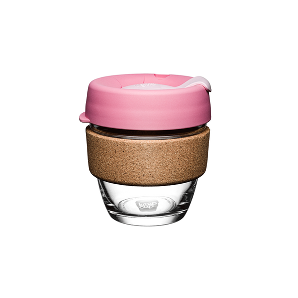 KeepCup - Saskatoon Glass Brew Cork Edition (8oz)