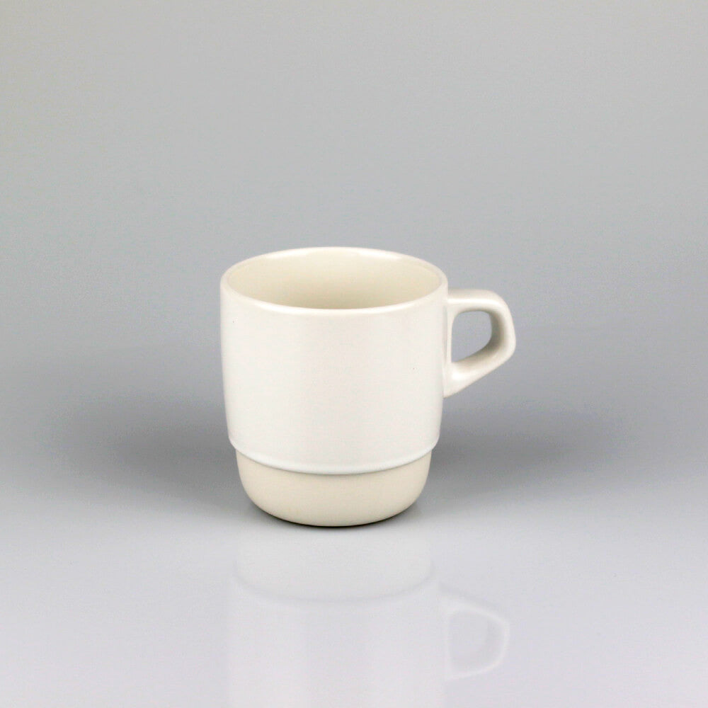 Kinto White Stackable Porcelain Mug (320ml)
