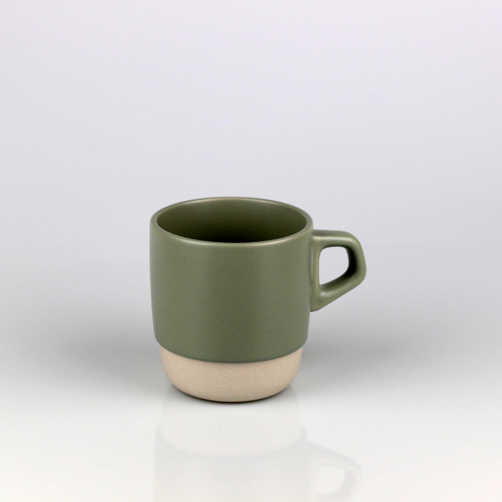 Kinto Grey Stackable Porcelain Mug (320ml)