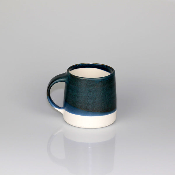 Kinto Navy / White Dual Colour Porcelain Mug (320ml)