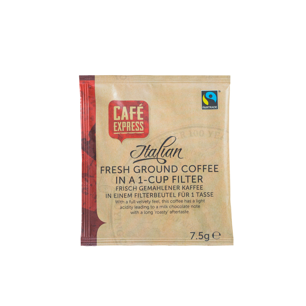 Fairtrade One-Cup Coffee Filter (1x50)