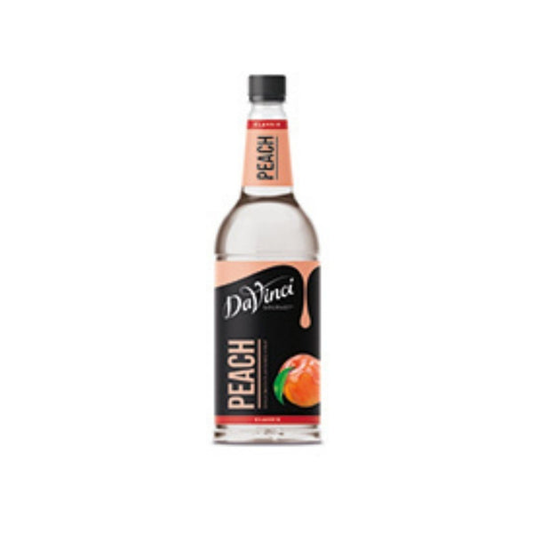 DaVinci Peach Syrup (1x1l Bottle)