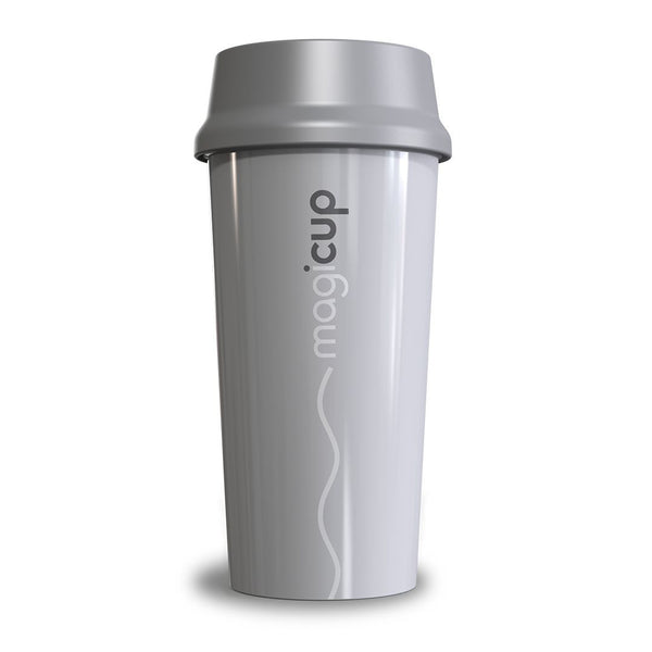 Magicup Reusable Coffee Cup - Pure Grey (470ml)