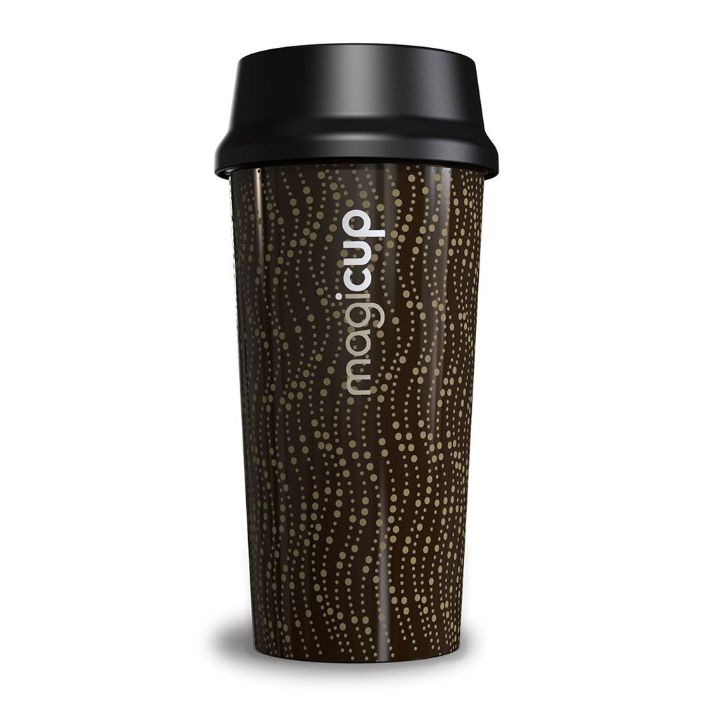 Magicup Reusable Coffee Cup - Revolution Brown (470ml)