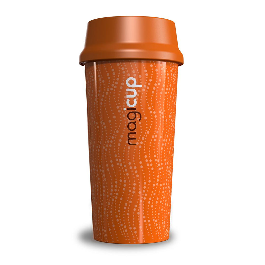 Magicup Reusable Coffee Cup - Revolution Orange (470ml)
