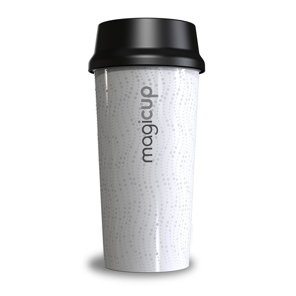 Magicup Reusable Coffee Cup - Revolution White (470ml)