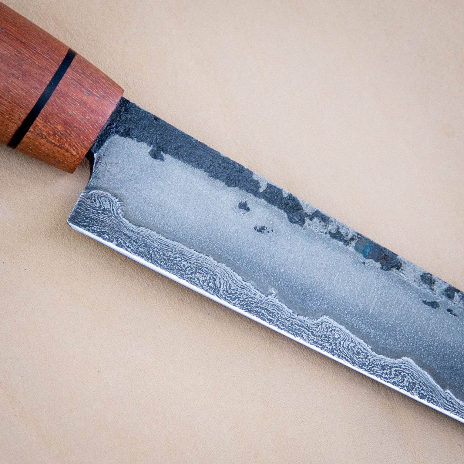K-tip San Mai Carving Knife