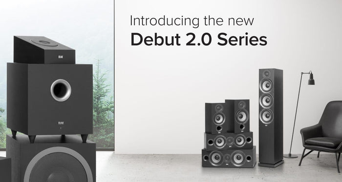 Elac launches Debut 2.0 - Second generation series of speakers designed by Andrew Jones —  Ooberpad