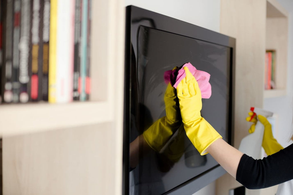 How to clean your flat screen TVs and displays the right way