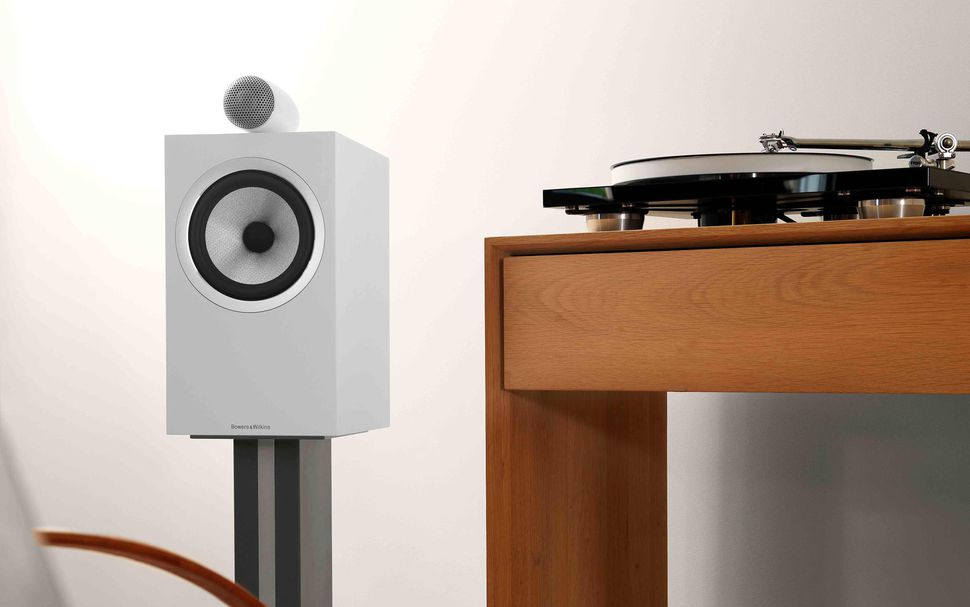 Studio-quality sound - B&W 705 S2 Bookshelf Speaker