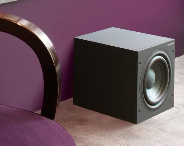 Powerful bass reproduction from a compact subwoofer
